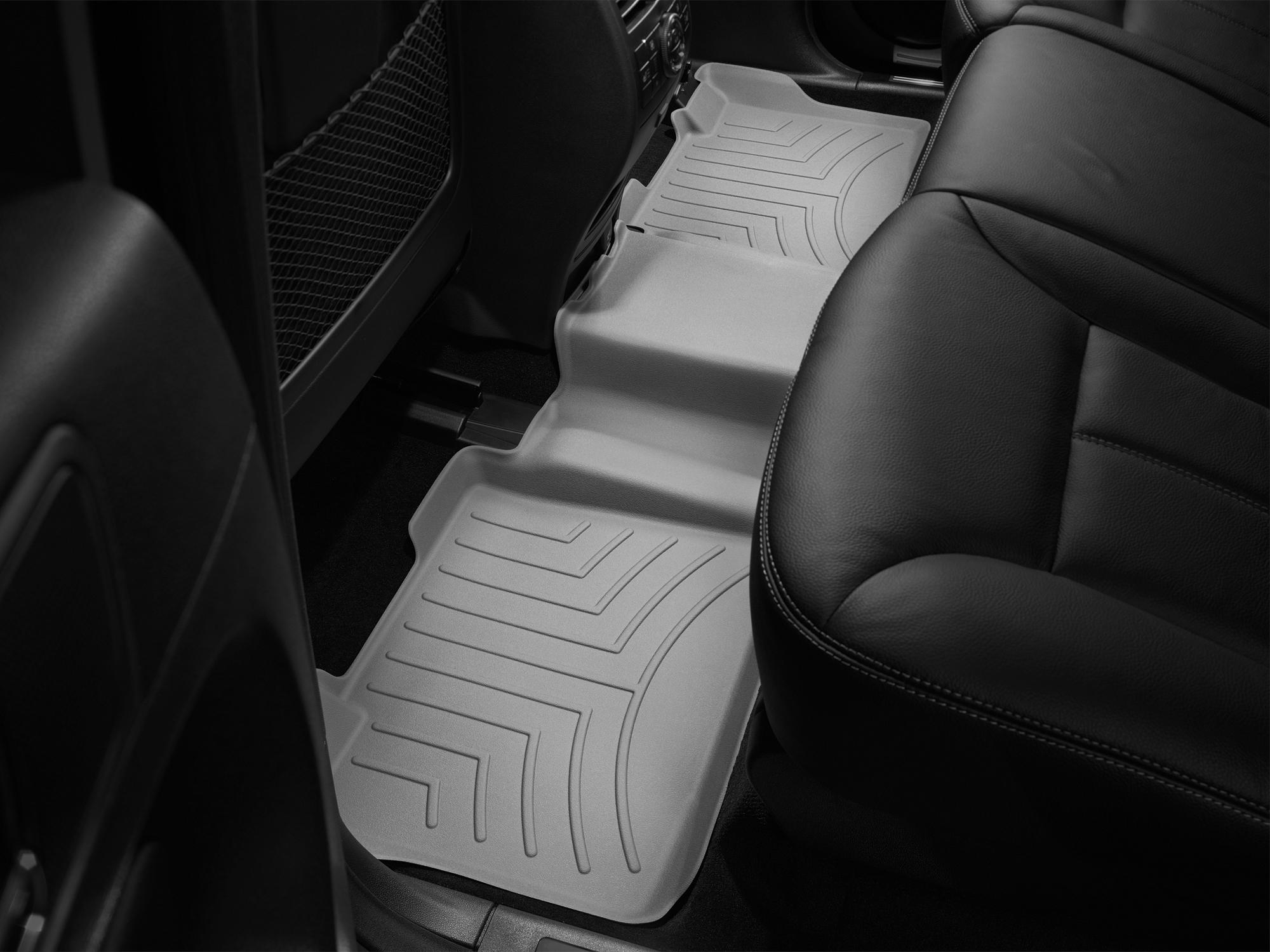 Tappeti gomma su misura bordo alto Mercedes ML-Class 06>11 Grigio A2523