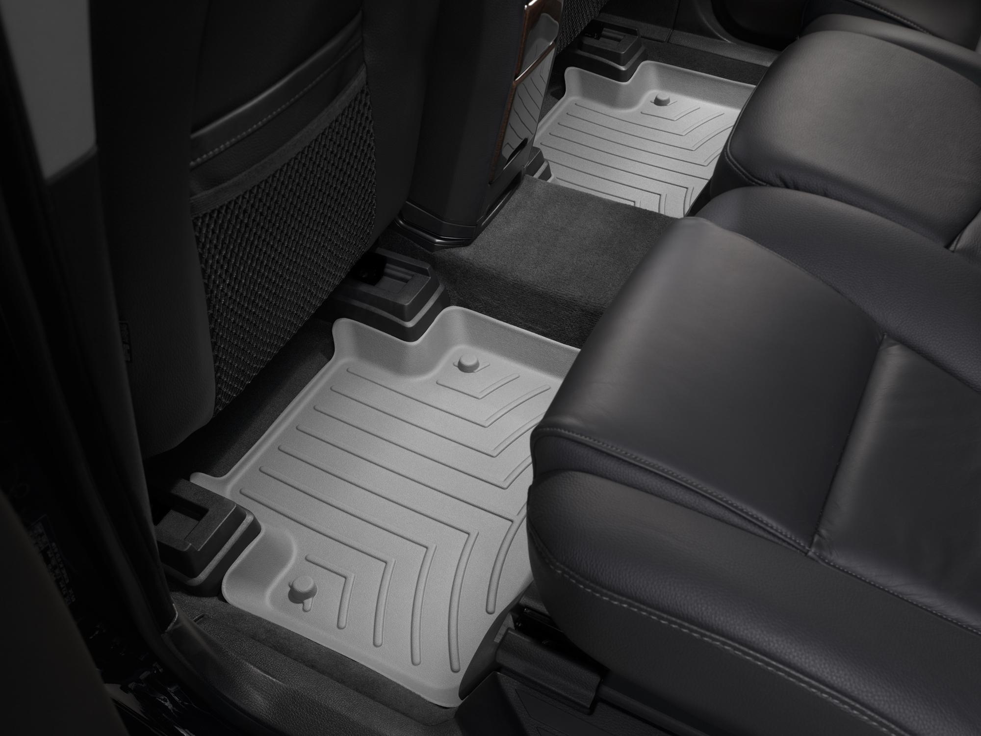Tappeti gomma su misura bordo alto Volvo XC90 03>14 Grigio A4439*