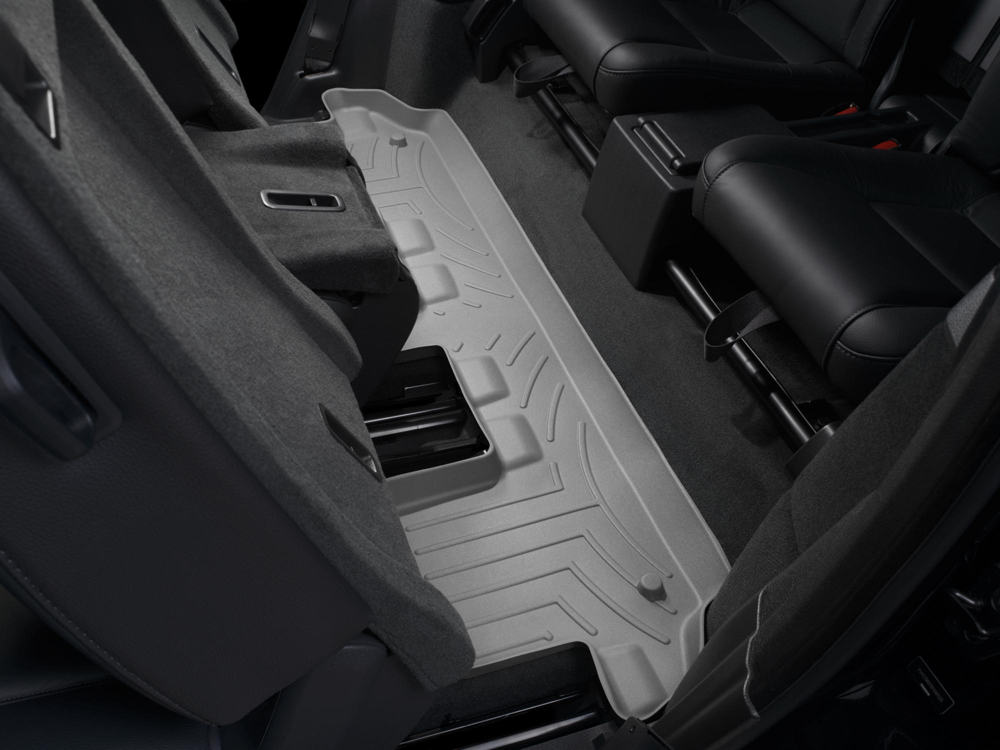 Tappeti gomma su misura bordo alto Volvo XC90 03>14 Grigio A4441*