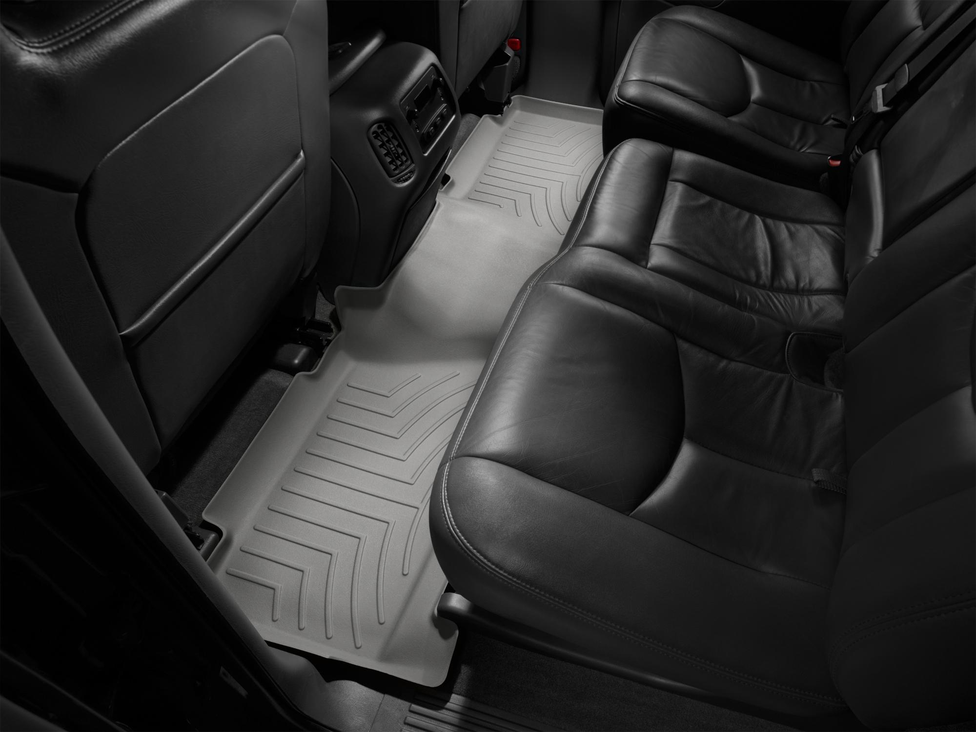 Tappeti gomma su misura bordo alto Chevrolet Silverado 01>06 Grigio A150