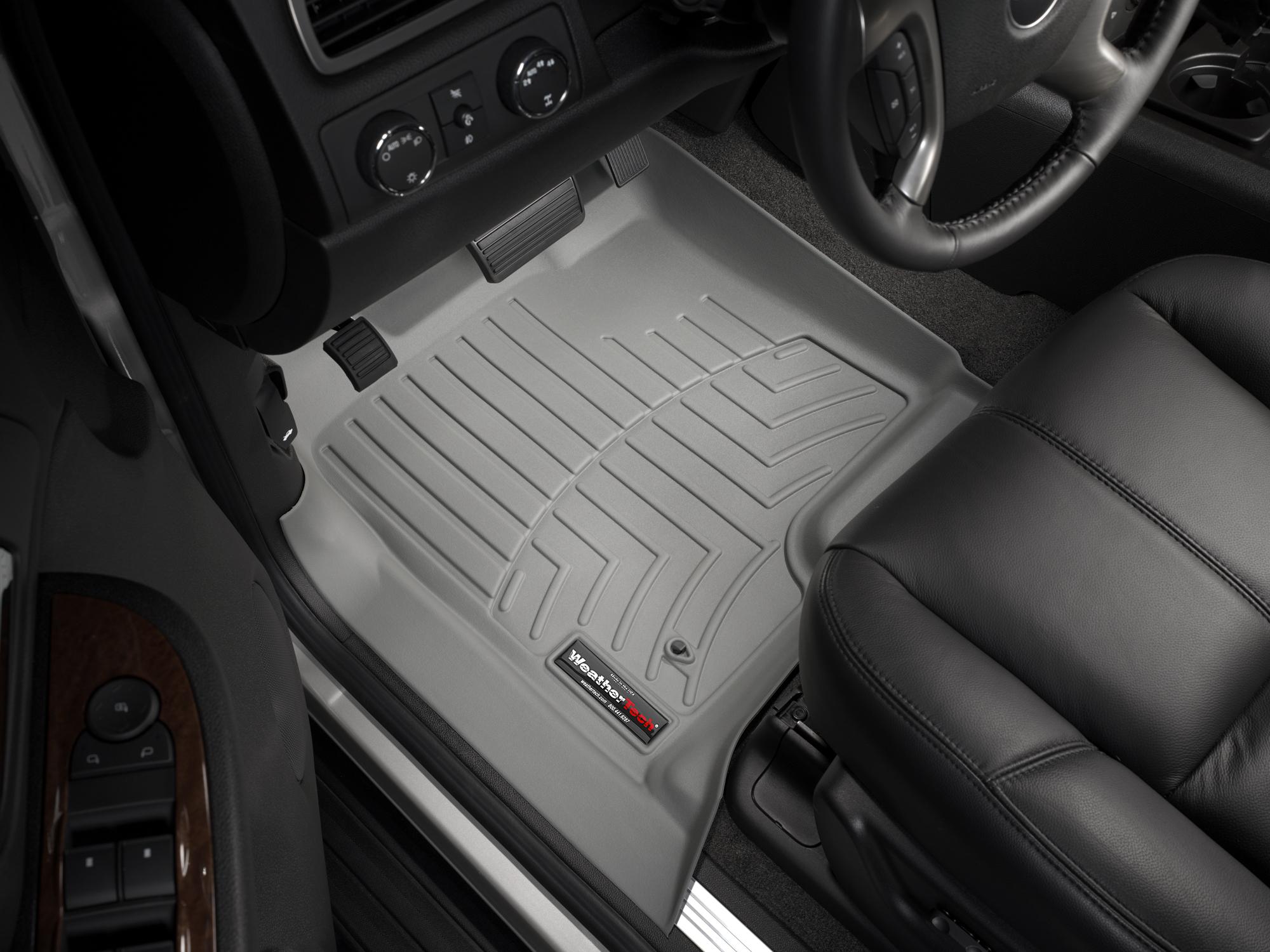 Tappeti gomma su misura bordo alto Chevrolet Avalanche 07>13 Grigio A95*