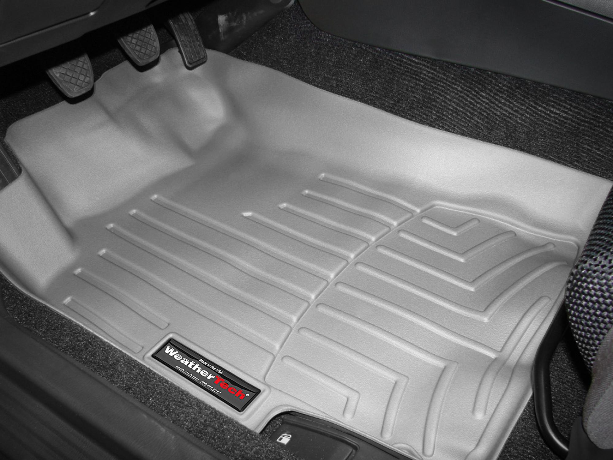 Tappeti gomma su misura bordo alto Subaru Impreza WRX STi 07>07 Grigio A3454
