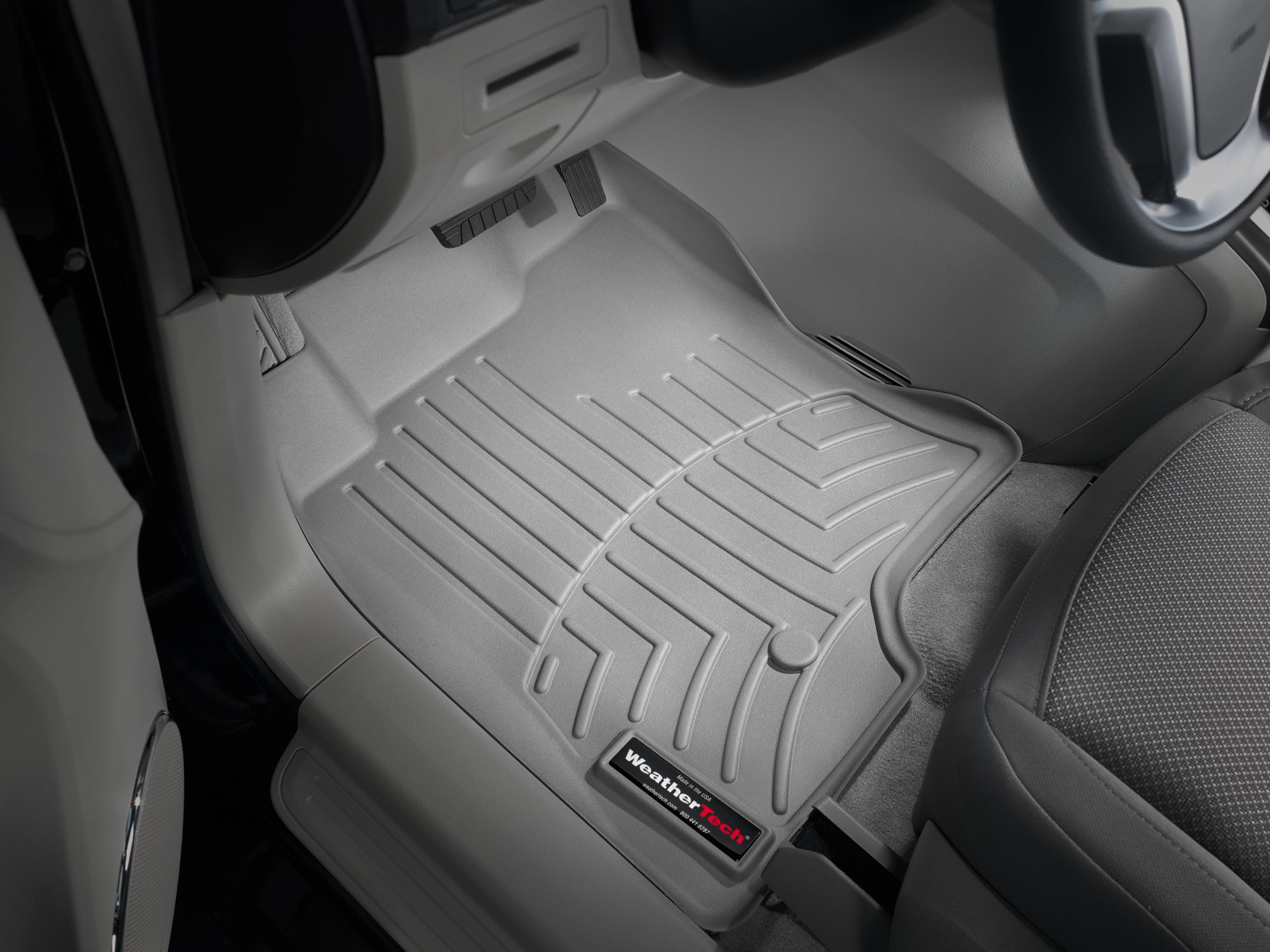 Tappeti gomma su misura bordo alto Chevrolet Captiva 06>11 Grigio A105*