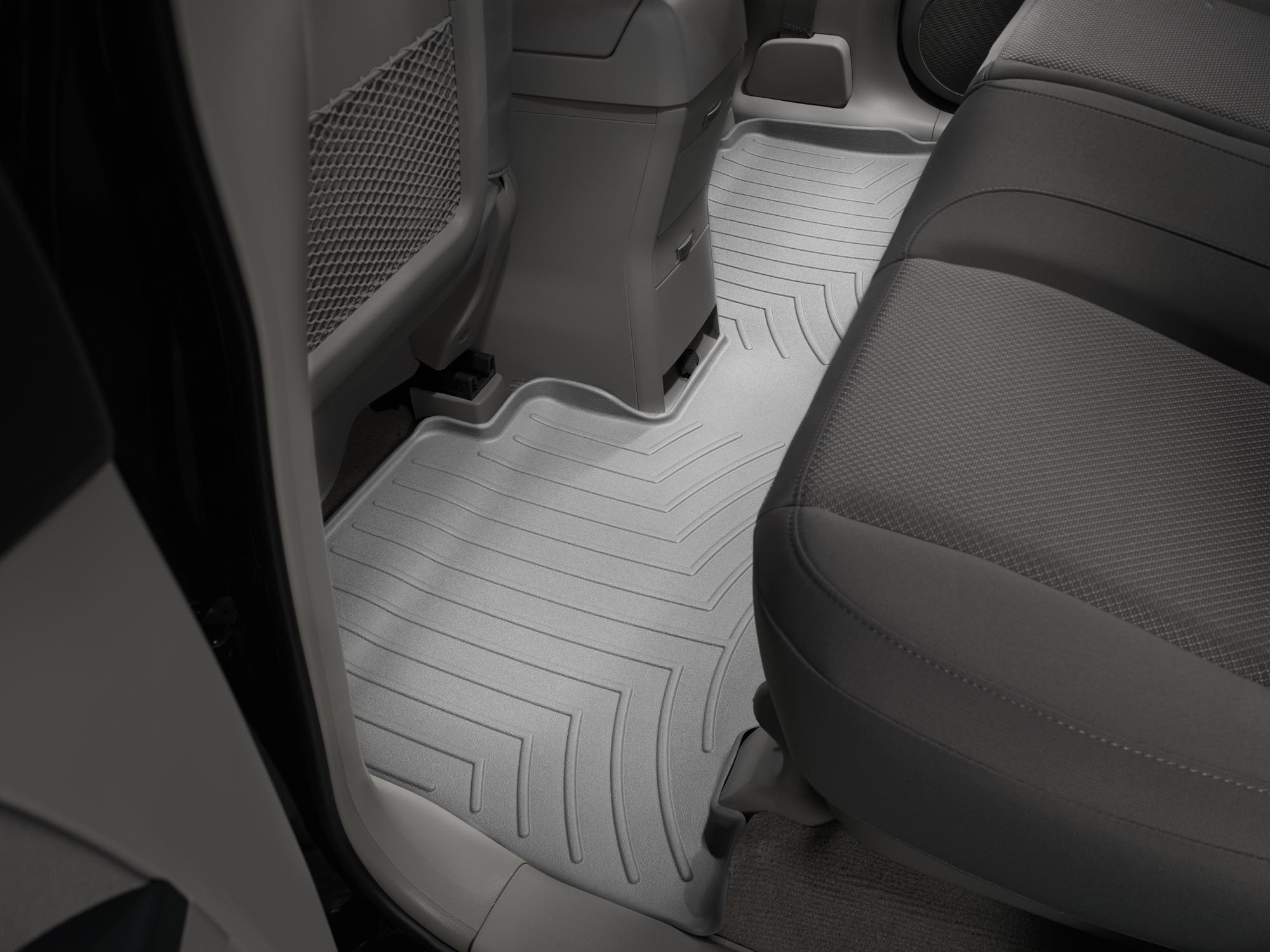 Tappeti gomma su misura bordo alto Chevrolet Captiva 06>11 Grigio A107*
