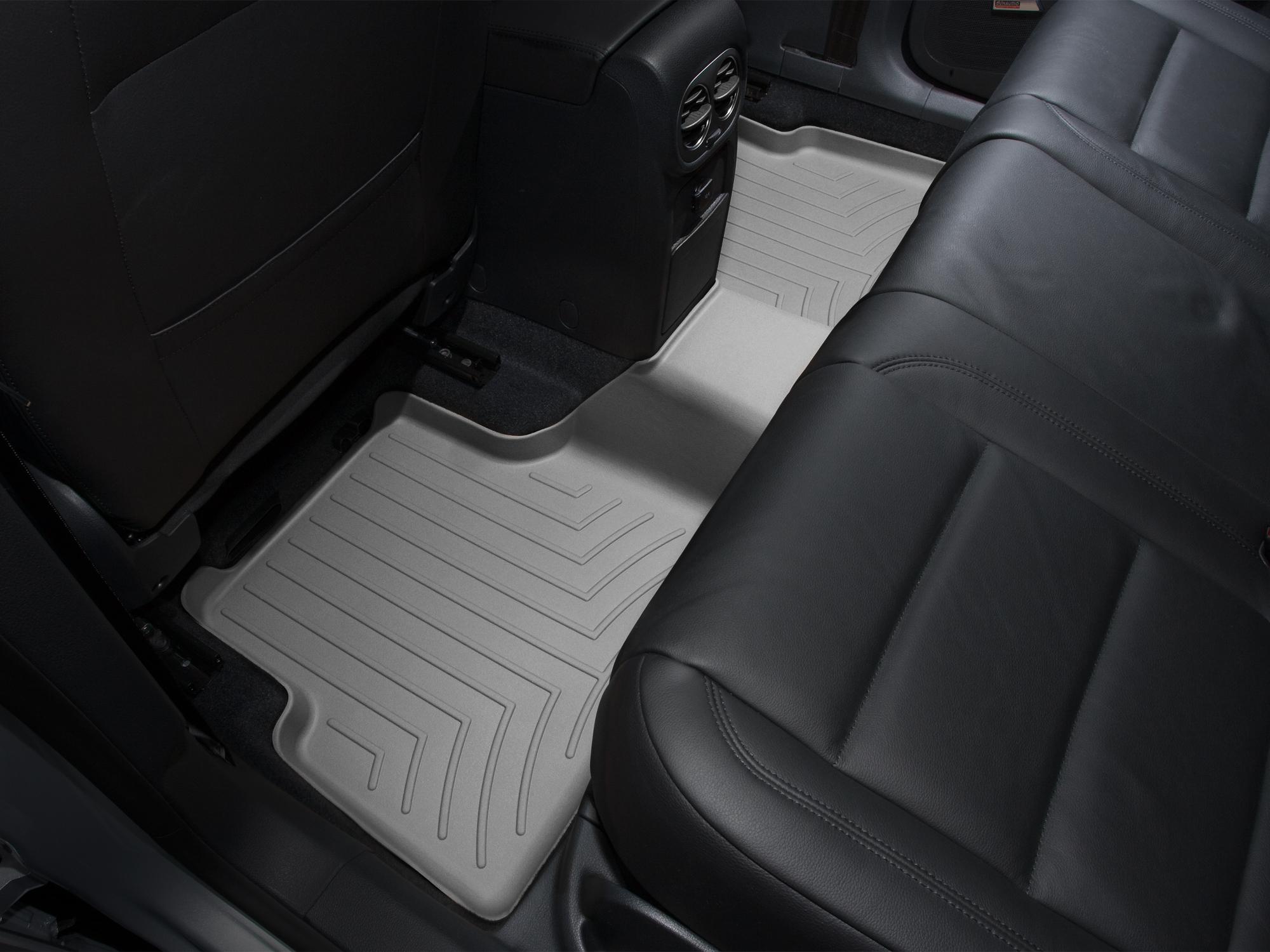 Tappeti gomma su misura bordo alto Volkswagen Tiguan 08>15 Grigio A4262*