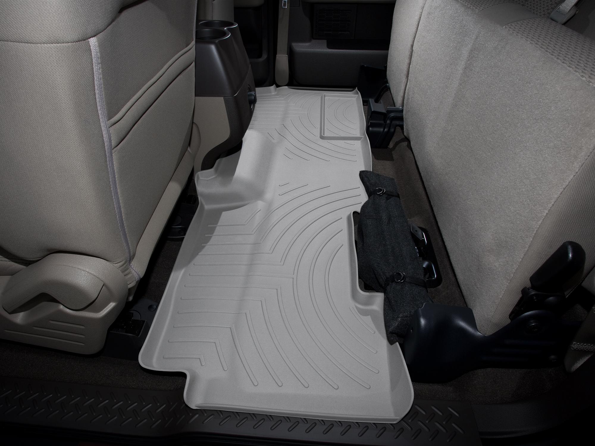 Tappeti gomma su misura bordo alto Ford F-150 09>09 Grigio A899*