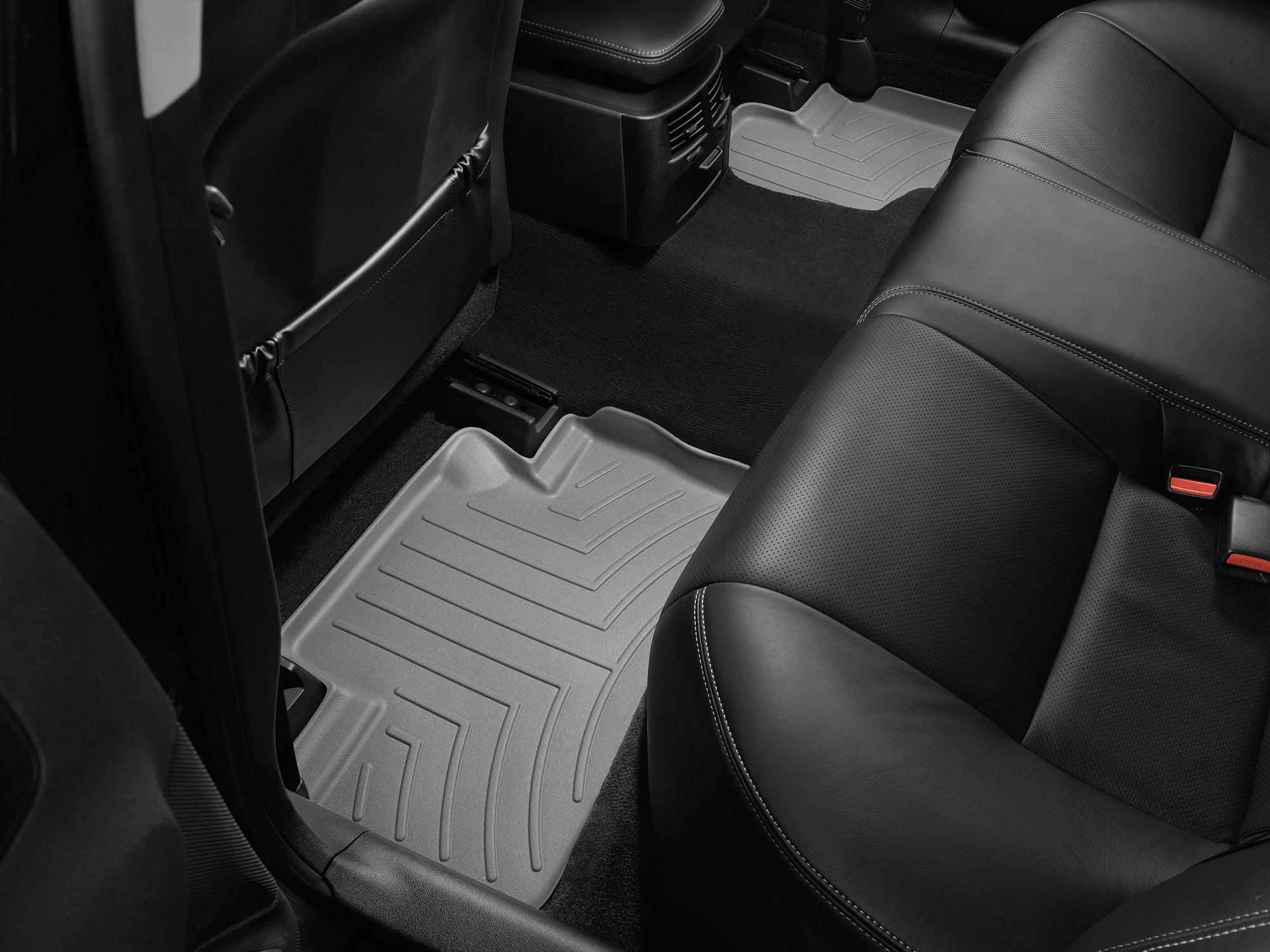 Tappeti gomma su misura bordo alto Lexus IS 05>10 Grigio A2039