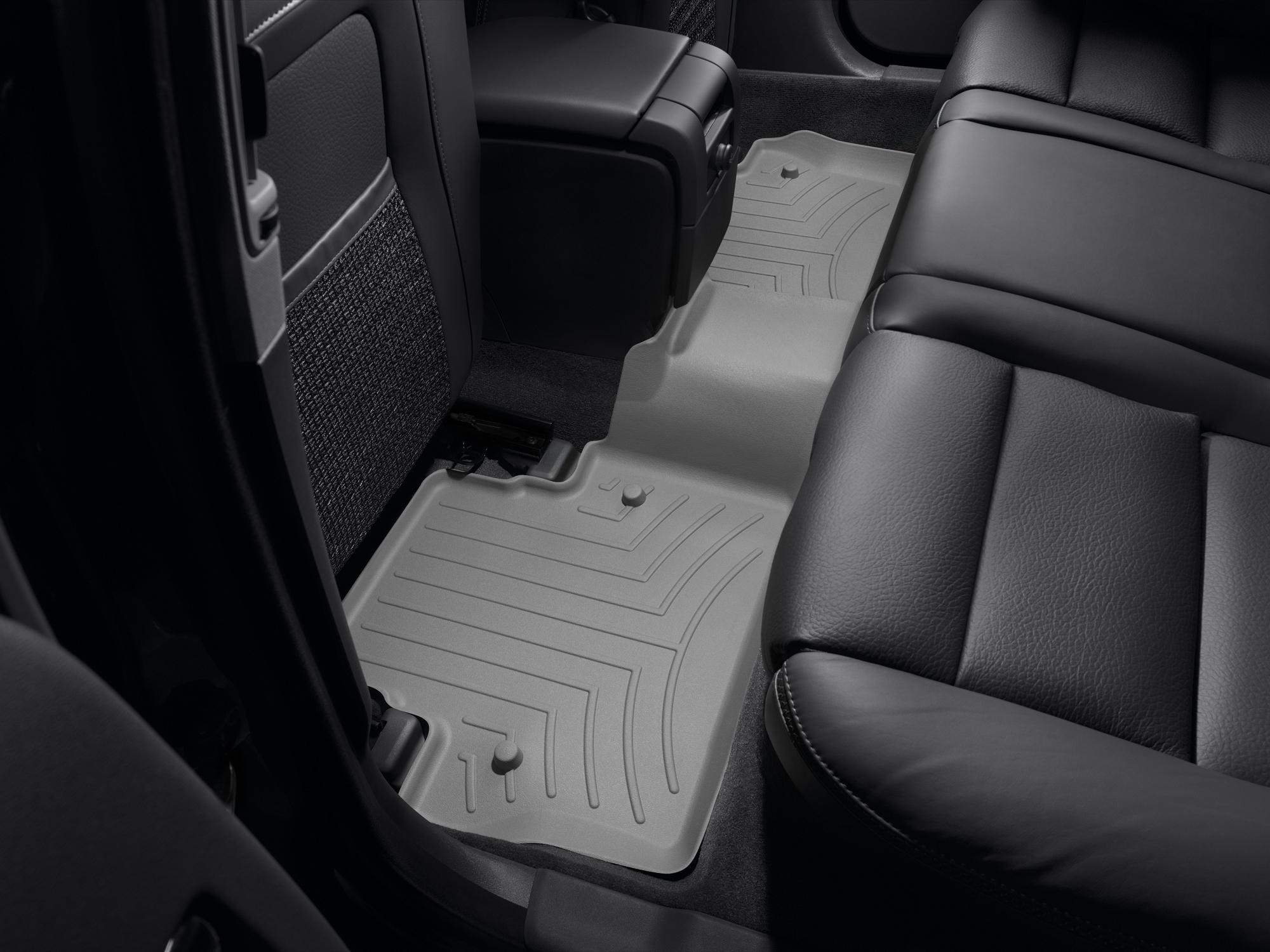 Tappeti gomma su misura bordo alto Volvo V70 08>17 Grigio A4414*