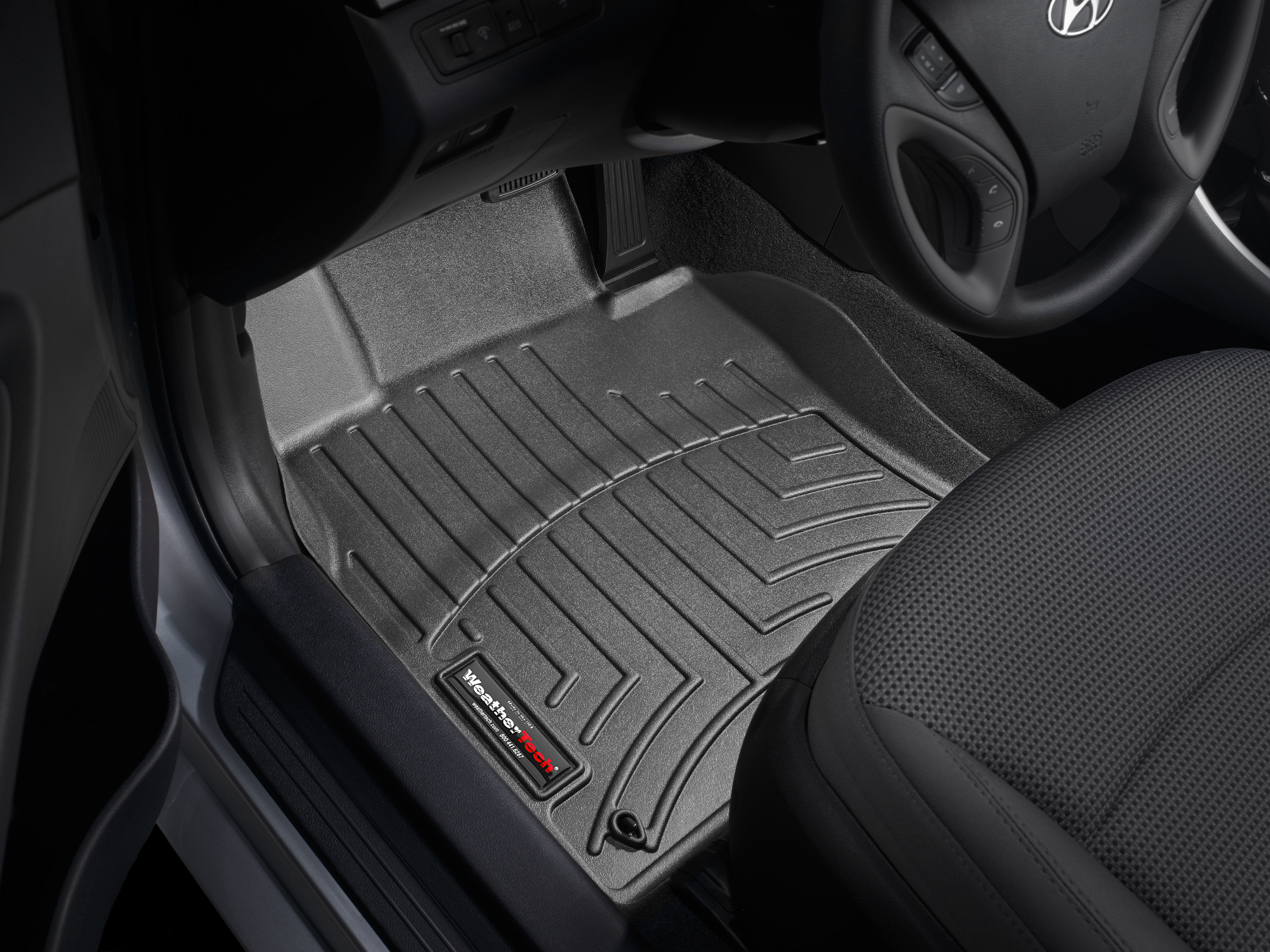 Exceptional 2013 Hyundai Sonata | All Weather Car Mats   All Season Flexible Rubber Floor  Mats | WeatherTech