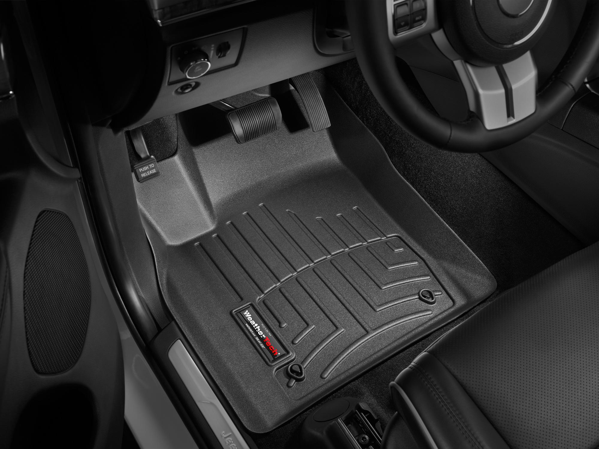 2012 Jeep Grand Cherokee Avm Hd Floor Mats Heavy Duty Flexible