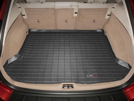 Cqlights XC60 Cargo Liner for 2018 2019 2020 XC60 Trunk Liner Tray Heavy Duty Rubber Rear Cargo Area Mat Waterproof Protector Floor Mat Black