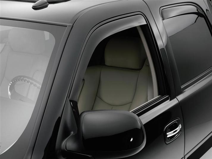 Weathertech Side Window Deflectors >> Chevrolet 2002 Suburban Side Window Deflectors