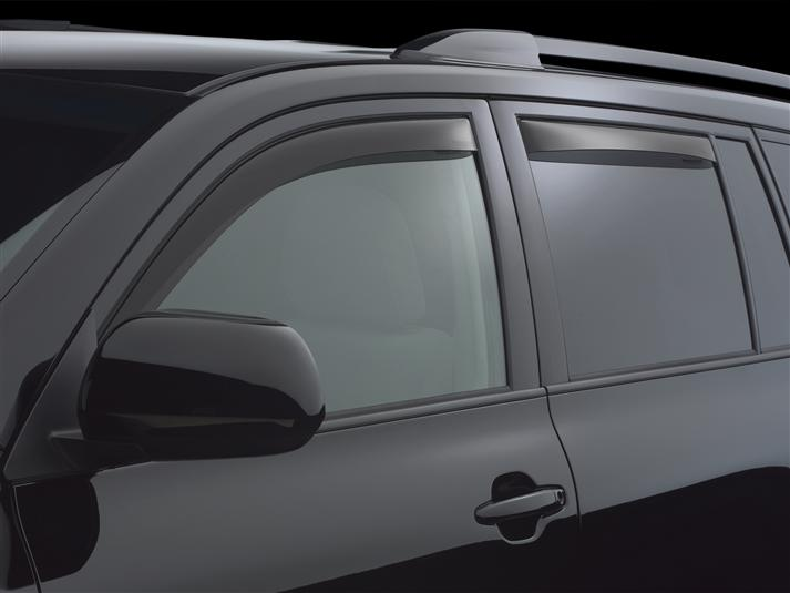 2008 Toyota Highlander Side Window DeflectorsIn-Window Channel Rain Guards 32122ade26f