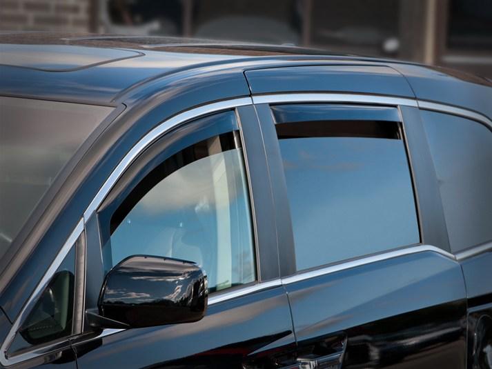 2013 Honda Odyssey   Rain Guards - Side Window Deflectors for Cars ...