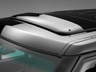 Sunroof Wind Deflector installed on a Land Rover. BY WEATHERTECH