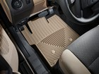 tan driver side All Weather Floor Mats in vehicle BY WEATHERTECH