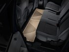 second row tan All Weather Floor Mats in vehicle BY WEATHERTECH