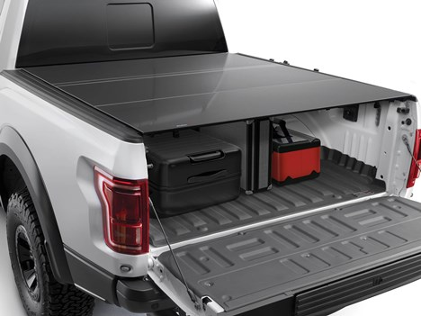 Weathertech Alloycover Hard Tri Fold Pickup Truck Bed Cover Weathertech