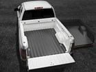 Contoured to precisely fit your truck BY WEATHERTECH