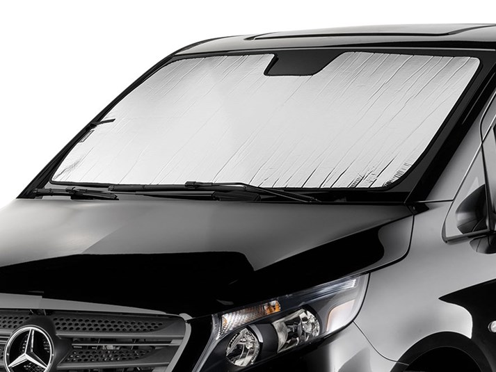 Custom Fit Automotive Reflective WindShield Sunshade for 2017 2018 Chrysler Pacifica Minivan