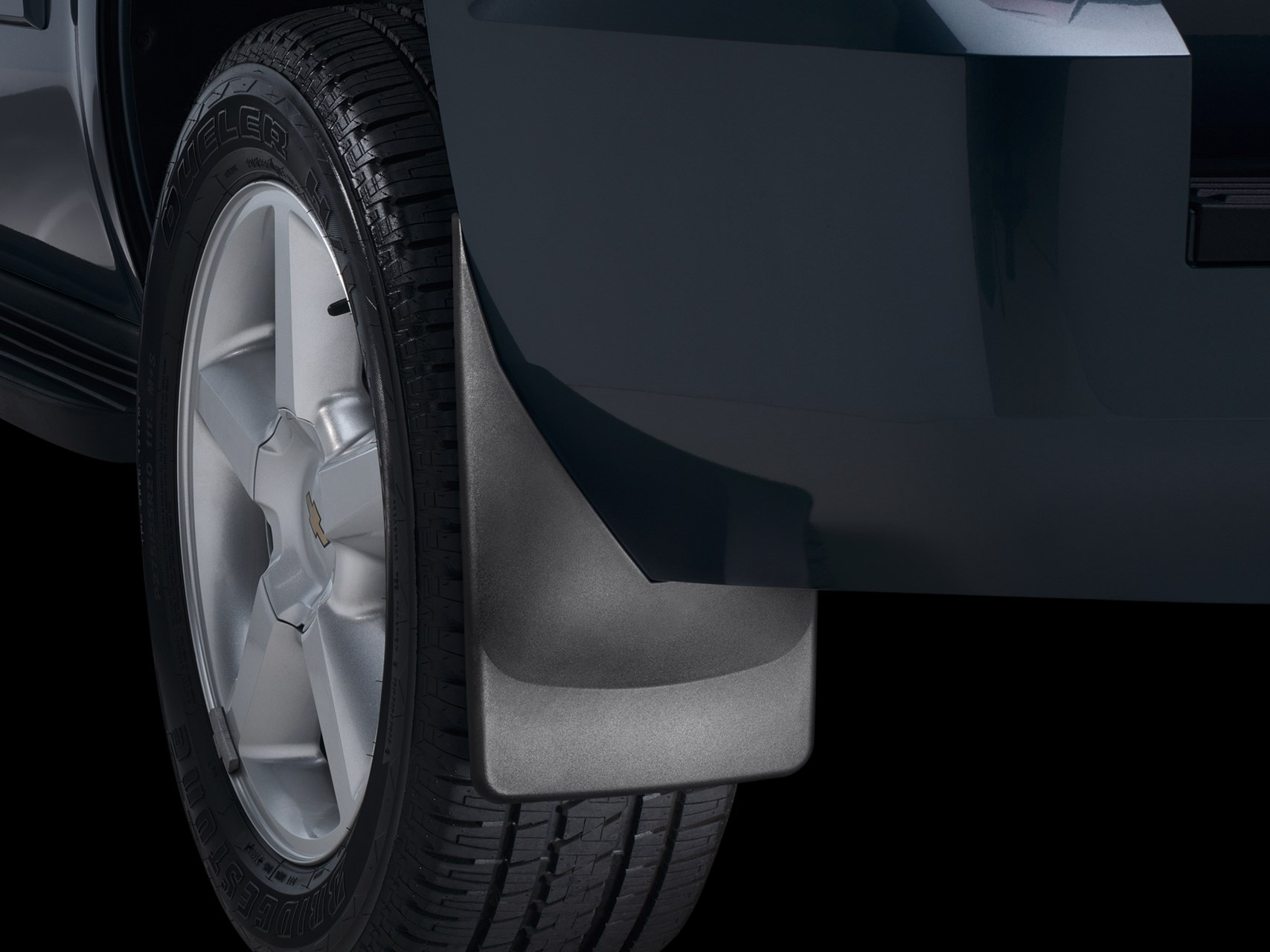 Mudflaps On A  Chevy Tahoe By Weathertech