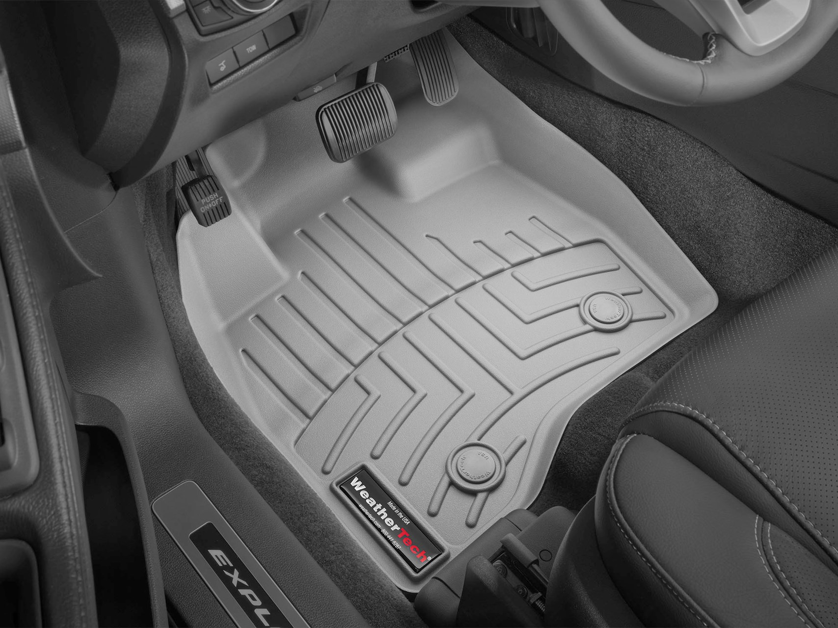 Premium floorliners offer protection to vehicle interior