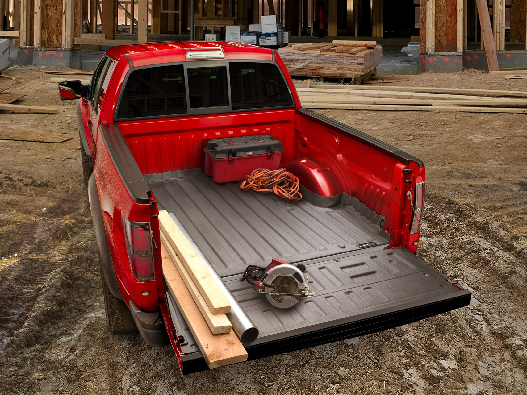 2020 toyota tacoma techliner bed liner and tailgate protector for trucks weathertech 2020 toyota tacoma techliner bed