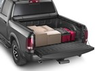 Roll Up Truck Bed Cover with boxes. BY WEATHERTECH