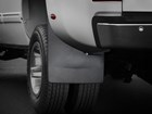dually wide MudFlap on a truck BY WEATHERTECH