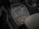 Autumn leaves on black FloorLiners. BY WEATHERTECH