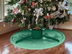 Christmas Tree Mat underneath a Christmas tree BY WEATHERTECH