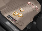 cookies and candy canes on a tan FloorLiner BY WEATHERTECH