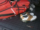 golf clubs on a Cargo Liner BY WEATHERTECH