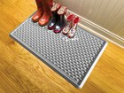 overhead image of IndoorMat with boots on it BY WEATHERTECH