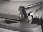 Truck bed cover latch mechanism. BY WEATHERTECH