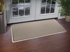 IndoorMat in front of double doors BY WEATHERTECH