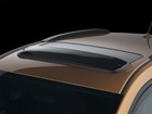 Sunroof Wind Deflector on a 2009 Toyota Matrix. BY WEATHERTECH