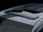 Sunroof Wind Deflector on a dark blue vehicle. BY WEATHERTECH