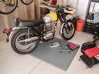 motorcycle on an All Purpose Mat BY WEATHERTECH