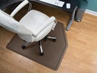 office desk chair on an All Purpose Mat BY WEATHERTECH