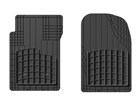 Overhead image of AVM HD 1st row mats.  BY WEATHERTECH