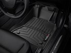 black driver side FloorLiner in vehicle  BY WEATHERTECH