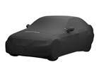 Black Indoor Car Cover on sedan.  BY WEATHERTECH