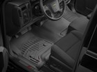 First row black FloorLiners in pickup truck.  BY WEATHERTECH