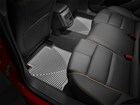 second row grey All Weather Floor Mats in vehicle BY WEATHERTECH