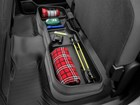 camping gear inside Under Seat Storage System BY WEATHERTECH