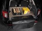 firewood on a tan Cargo Liner BY WEATHERTECH