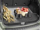 apples and apple cider jug inside CargoTech BY WEATHERTECH
