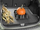 Pumpkin and corn stalks on a Cargo Liner BY WEATHERTECH
