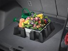 flowers and watering can inside CargoTech BY WEATHERTECH
